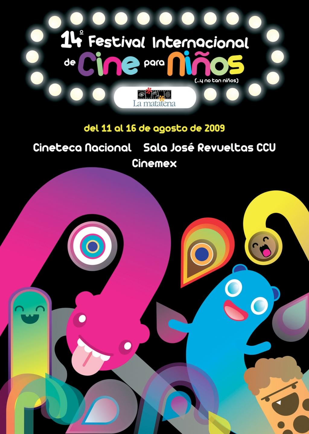 Cartel del 14° Festival Internacional de Cine para Niños (...y no tan Niños)