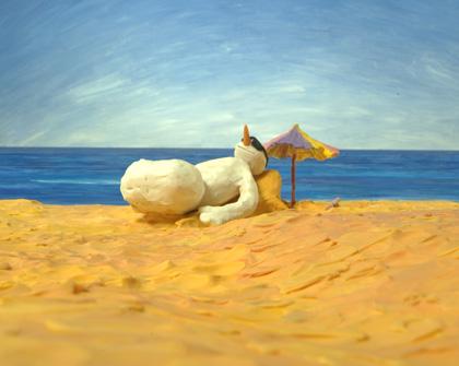Imagen de Zanahoria en la playa