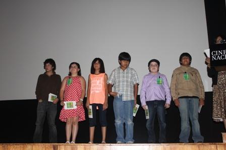 Fotografía del jurado infantil del 15° Festival