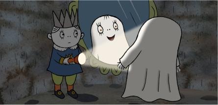 Imagen de Laban el pequeño fantasma