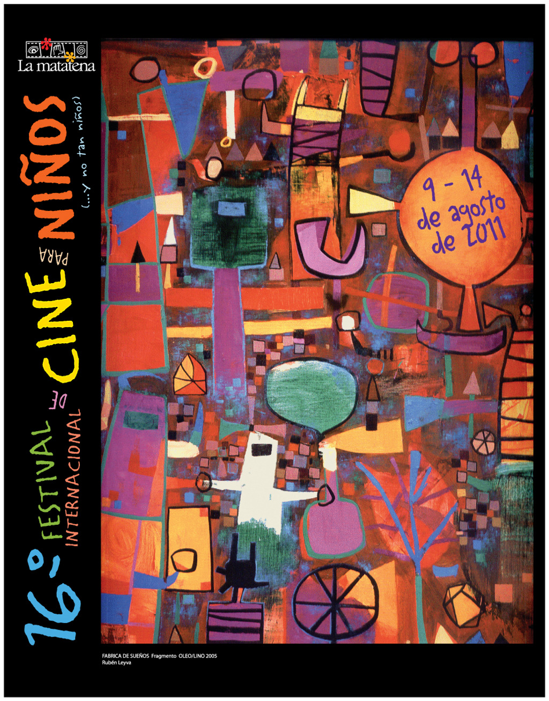 Cartel del 16° Festival Internacional de Cine para Niños (...y no tan Niños)