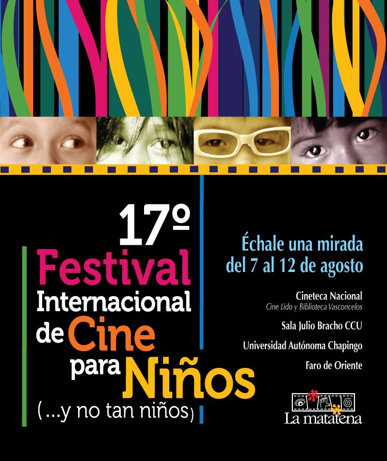Cartel del 17° Festival Internacional de Cine para Niños (...y no tan Niños)