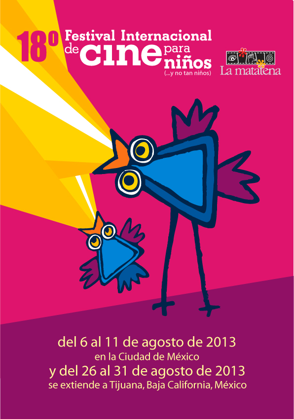 Cartel del 18° Festival Internacional de Cine para Niños (...y no tan Niños)