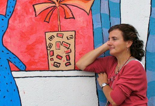 Fotografía de Guadalupe Sánchez Sosa, Directora de animación en México