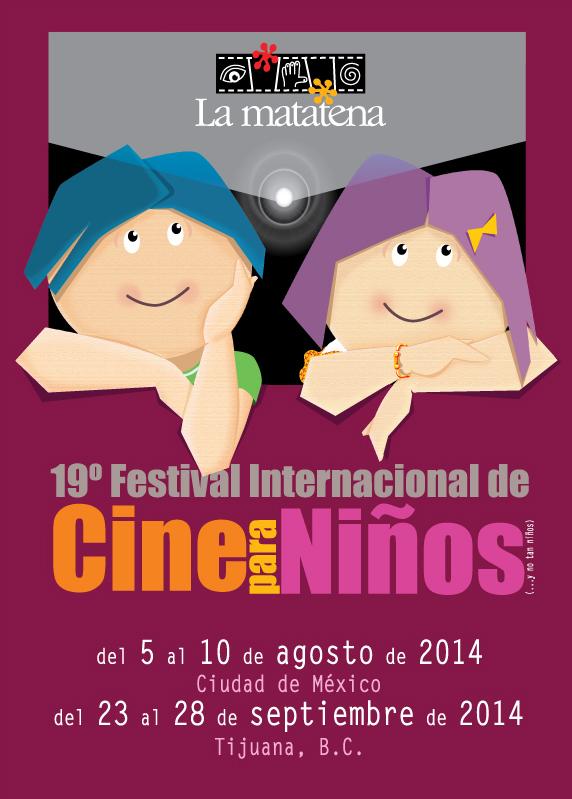 Cartel del 19° Festival Internacional de Cine para Niños (...y no tan Niños)
