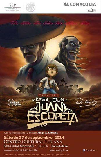 Cartel de La revolución de Juan Escopeta