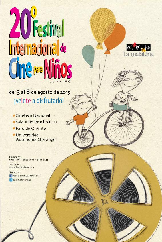 Cartel del 20° Festival Internacional de Cine para Niños (...y no tan Niños)