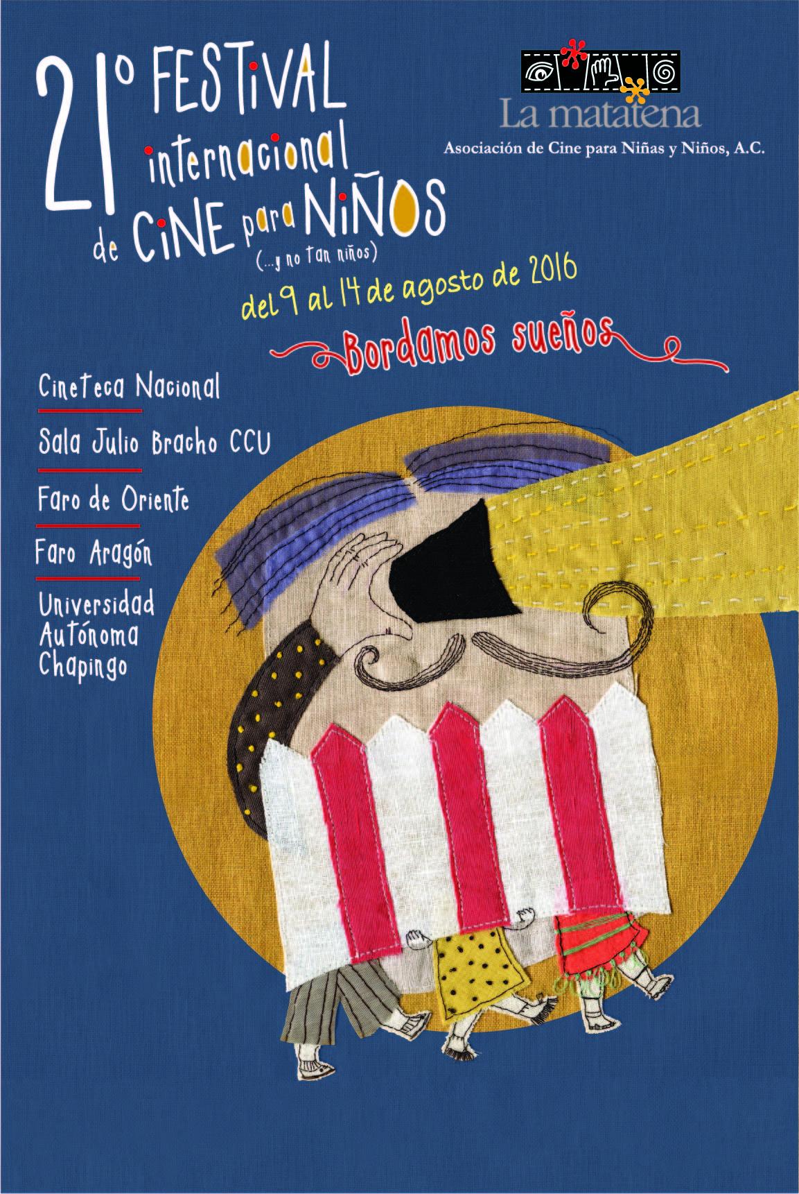 Cartel del 21° Festival Internacional de Cine para Niños (...y no tan Niños)