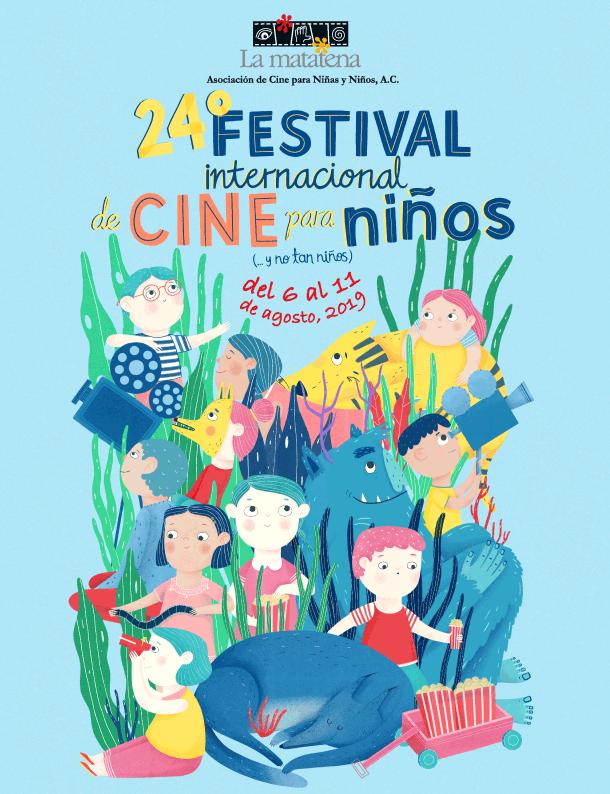 Cartel del 24° Festival Internacional de Cine para Niños (...y no tan Niños)