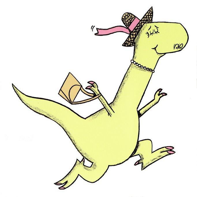 Imagen de Edwina, el dinosaurio que no sabía que estaba extinto