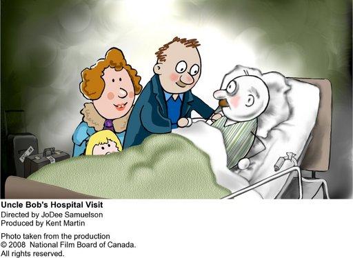 Imagen de Visitemos al tío Bob en el hospital