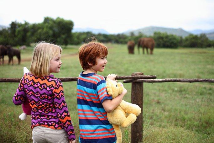 Imagen de Casper y Emma en Safari