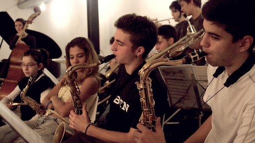 Imagen de Una película sobre los niños y la música: La Banda de Jazz de Sant Andreu