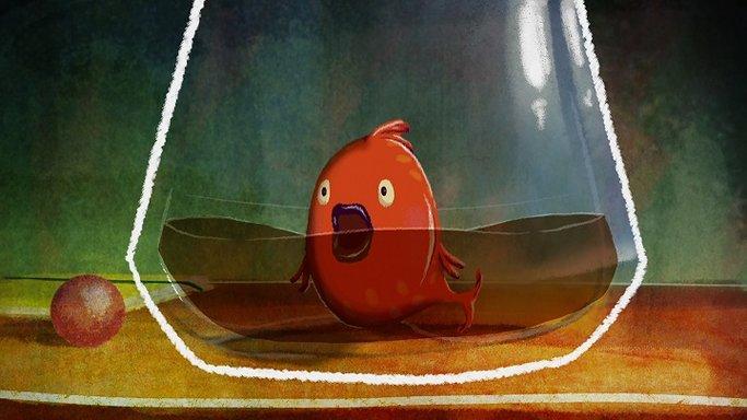 Imagen de Camino de agua para un pez