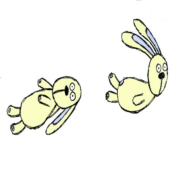 Imagen de Knuffle el conejo de peluche