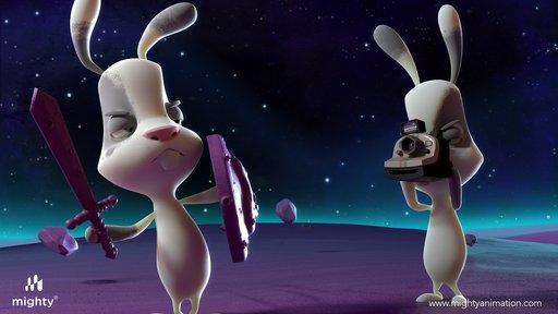 Imagen de Conejo en la luna