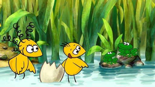 """Imagen de Los Tweetlings: """"Por la orilla del río"""""""