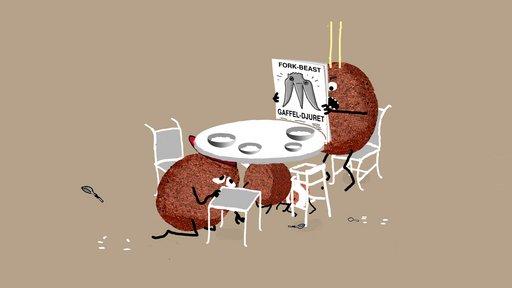 Imagen de Las albóndigas y la bestia del tenedor