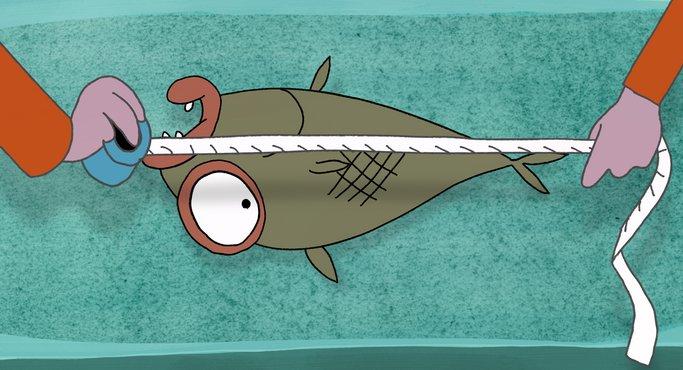 Imagen de El pez mediano del mundo