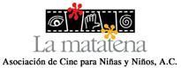 Logo de La Matatena, Asociación de Cine para Niñas y Niños, A.C.