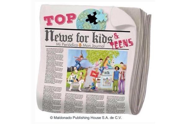 Logo de Revista Top News for Kids and Teens